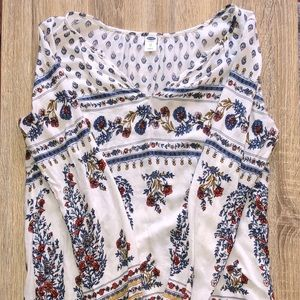 Old Navy Paisley Blouse